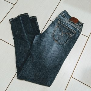 Paris blue lowrise jeans